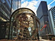 Arte del metal del globo Imágenes de archivo libres de regalías
