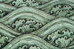 Arte del modello di onda del mare Immagine Stock Libera da Diritti