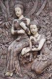Arte del moldeado de la mujer Foto de archivo libre de regalías