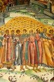 Arte del monasterio de Horezu Fotos de archivo