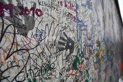Arte del muro di Berlino Immagine Stock Libera da Diritti