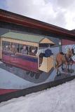 Arte del muro di cinta, Nashua, New Hampshire Immagini Stock Libere da Diritti