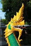 Arte del naga, estilo tailandés Imagen de archivo libre de regalías
