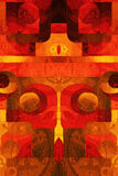 Arte del nativo americano Imagen de archivo libre de regalías