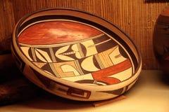 Arte del nativo americano del pueblo de Acoma de New México imágenes de archivo libres de regalías