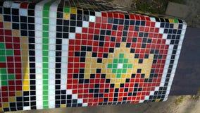 Arte del parco pubblico a Kiev Immagini Stock