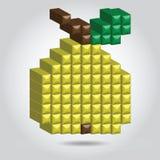 Arte del pixel di vettore Fotografia Stock Libera da Diritti
