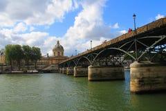 Arte del puente en París, Francia Fotos de archivo libres de regalías