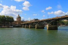 Arte del puente en París, Francia Fotos de archivo
