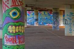 Arte del subterráneo Fotografía de archivo libre de regalías