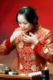 Arte del tè della Cina Fotografie Stock