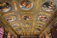 Arte del techo fotografía de archivo