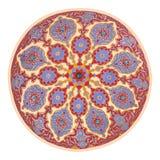 Arte del techo de la mezquita fotos de archivo libres de regalías