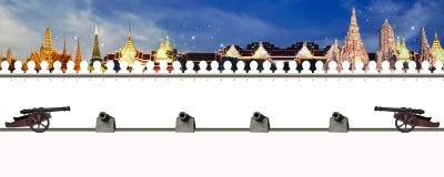 Arte del tempio della Tailandia Immagini Stock