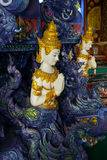 Arte del templo de Tailandia imagen de archivo