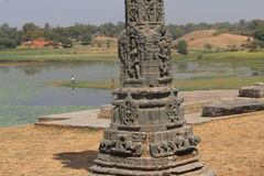 Arte del templo del arthuna Imagen de archivo