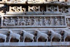 Arte del templo del menal Imágenes de archivo libres de regalías