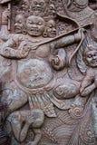 Arte del templo en la provincia Tailandia del norte del phetchaboon Fotografía de archivo libre de regalías