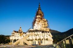 Arte del templo en la provincia Tailandia del norte del phetchaboon Imagenes de archivo