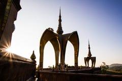 Arte del templo en la provincia Tailandia del norte del phetchaboon Imágenes de archivo libres de regalías