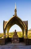 Arte del templo en la provincia Tailandia del norte del phetchaboon Fotos de archivo libres de regalías