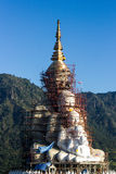 Arte del templo en la provincia Tailandia del norte del phetchaboon Imagen de archivo libre de regalías