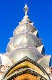Arte del templo en la provincia Tailandia del norte del phetchaboon Foto de archivo libre de regalías