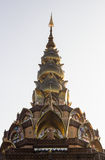 Arte del templo en la provincia Tailandia del norte del phetchaboon Fotos de archivo