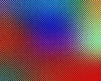 Arte del tono medio de la ilusión del multicolor 3d libre illustration