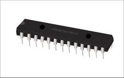 Arte del vector del circuito integrado (IC) Imagen de archivo