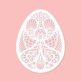 Arte del vector del huevo de Lacy Easter ilustración del vector