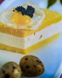 Arte delicioso de la gastronomía de la comida Imágenes de archivo libres de regalías
