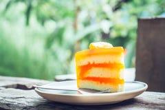Arte dell'arancia del dolce Immagini Stock Libere da Diritti