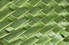 Arte dell'artigianato con il foglio della noce di cocco Fotografia Stock