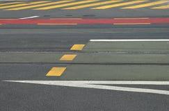 Arte dell'asfalto Fotografia Stock