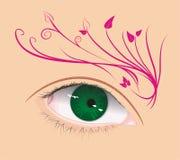 Arte dell'occhio Fotografia Stock