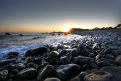 Arte dell'onda a forster - scape dell'oceano Fotografie Stock
