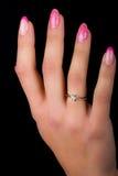 Arte dell'unghia e del manicure Immagini Stock