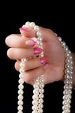 Arte dell'unghia e del manicure Immagine Stock Libera da Diritti