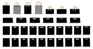 Arte della borsa Fotografia Stock