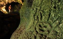 Arte della caverna Fotografia Stock