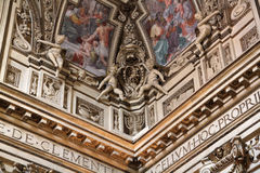 Arte della chiesa di Roma Fotografie Stock