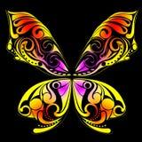 Arte della farfalla Fotografia Stock