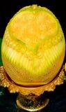 Arte della frutta del cantalupo Fotografia Stock Libera da Diritti
