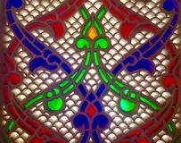 Arte della moschea Fotografie Stock Libere da Diritti