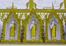 Arte della pagoda della Tailandia Immagine Stock Libera da Diritti