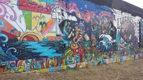 Arte della parete Immagine Stock Libera da Diritti