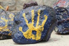 Arte della pietra Immagini Stock