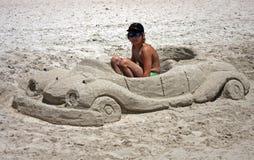 Arte della sabbia Fotografia Stock