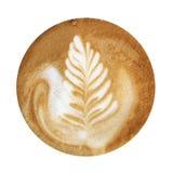 Arte della schiuma del caffè Immagini Stock